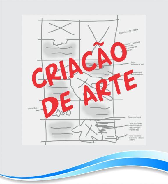 Criação de Arte para Cartão de Visita