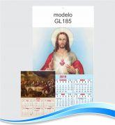Folhinha Imagens Diversas 22 x 38,5 cm